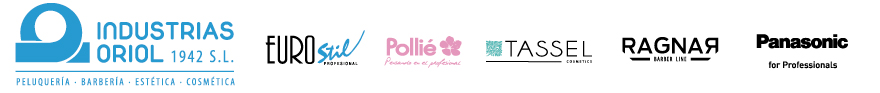 logos industrias oriol, eurostil, pollié y tassel