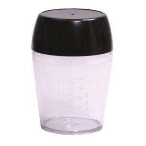 COCTELERA PLAST.CON GRADUACION 350 ML.