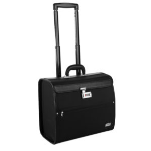 MALETIN TROLLEY NEGRO 42X20X35