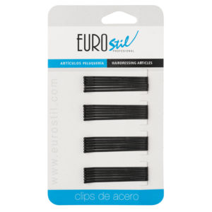 CARTON 24 CLIPS 50MM.NEGRO MATE ANTIDESLIZANTE