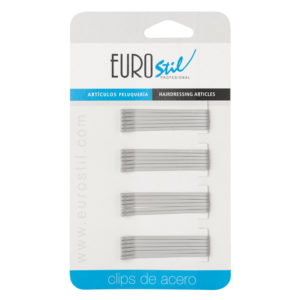 CARTON 24 CLIPS 50MM.GRIS MATE ANTIDESLIZANTE