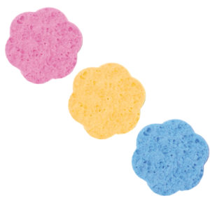 BLISTER 2 DEMAKE-UP CEL.SPONGE