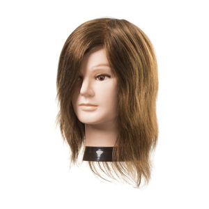 CABEZA JOE SIN BARBA CABELLO NATURAL 15-18CM.