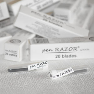 DISPENSADOR 20 CUCHILLAS PEN RAZOR