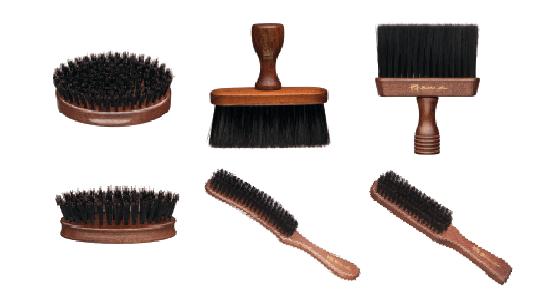 Cepillos de barbero Barber Line