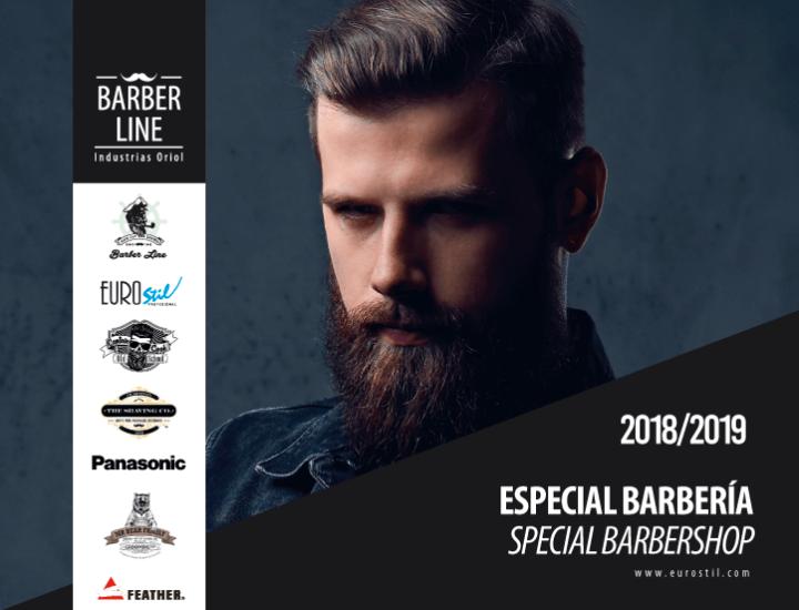 Nuevo catálogo de productos de barbería