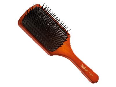 Cepillo rectangular púa de plástico