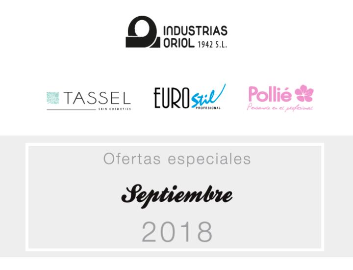 Ofertas especiales septiembre 2018