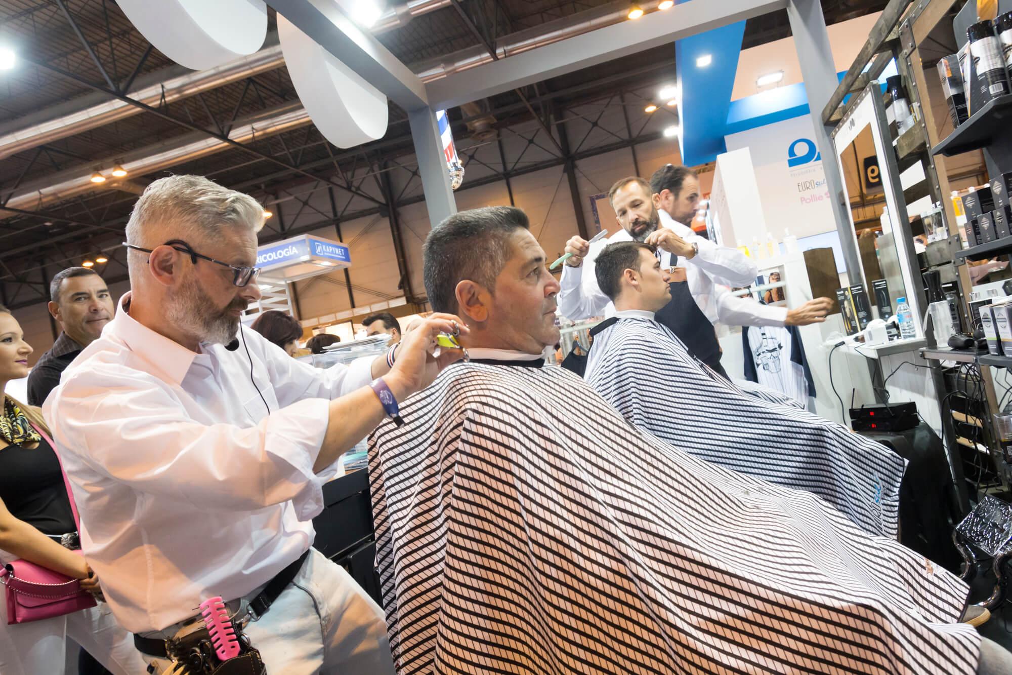 barbería Salón Look Madrid 2018