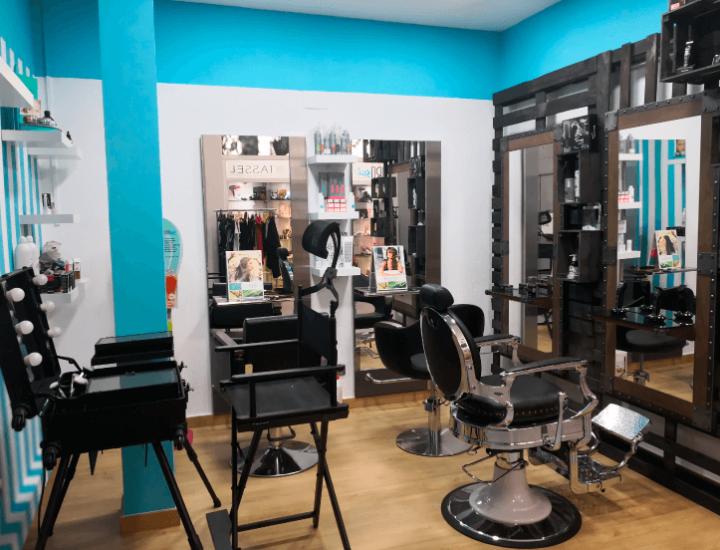 Exposición de peluquería, cosmética y estética en Industrias Oriol