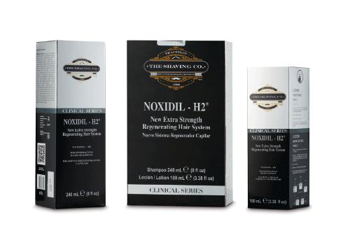 Regenerador capilar, champú y loción de The Shaving Co