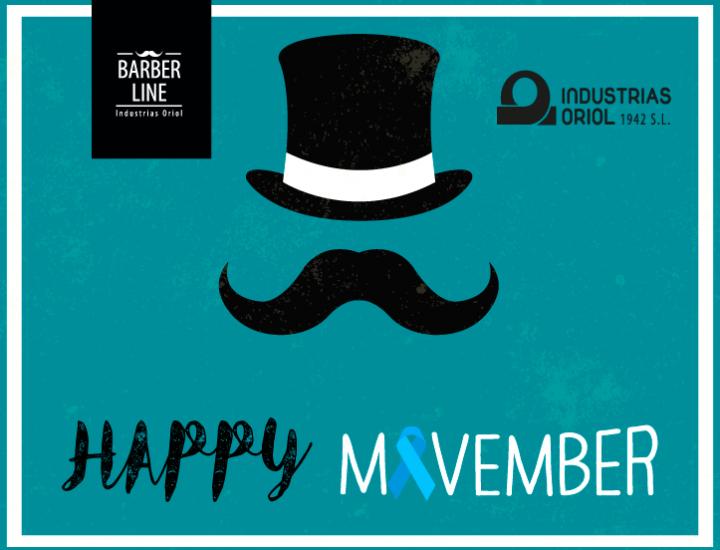 Únete al movimiento Movember con Industrias Oriol