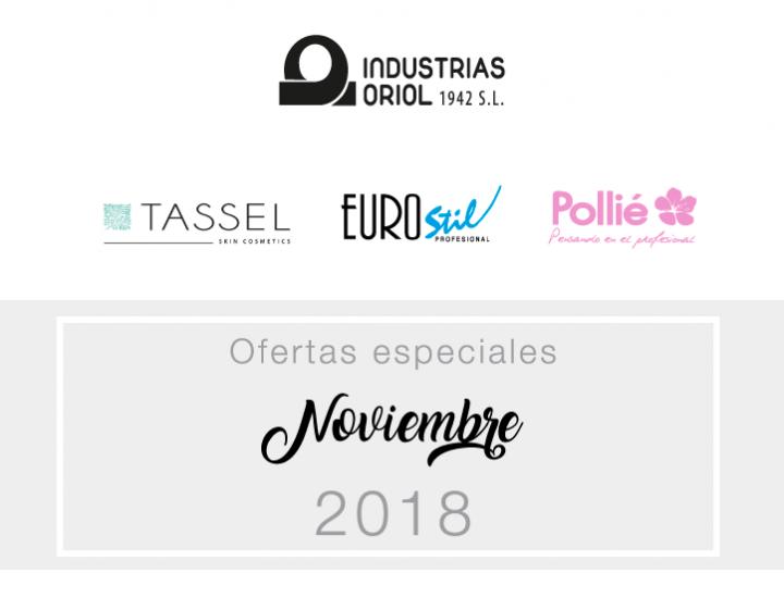 Ofertas especiales noviembre 2018