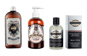 Champú para barba Mr Bear Family, Captain Cook y The Shaving Co.