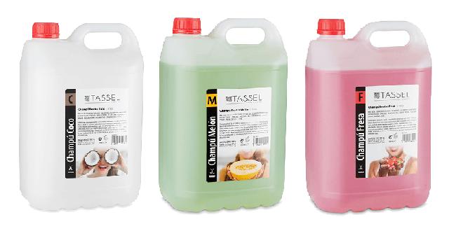 Champús 5 litros nuevo formato ahorro de Tassel