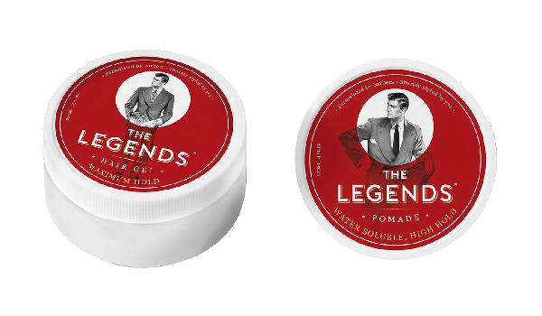 Pomada y gel para cabello de The Legends