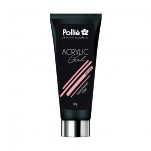 ACRYLIQUE GEL P-LACK Rose transparent
