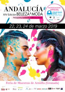 Cartel Feria Andalucía Belleza & Moda 2019