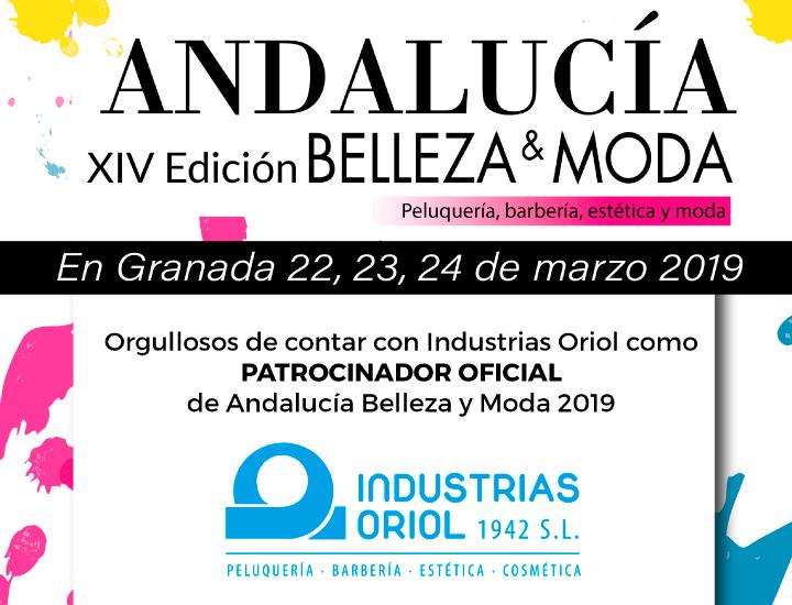 Industrias Oriol, patrocinador de la Feria Andalucía Belleza & Moda 2019