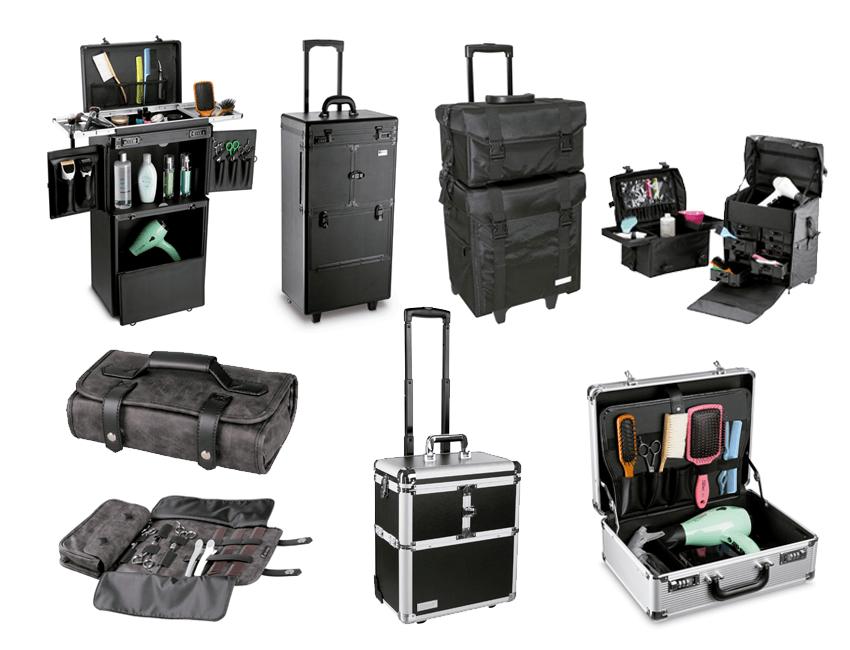 Maletas y maletines barbería y peluquería