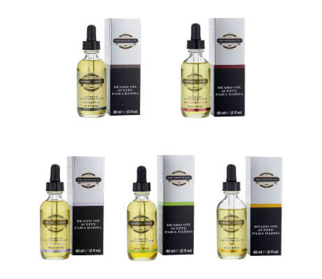 aceites para barba de The Shaving Co.