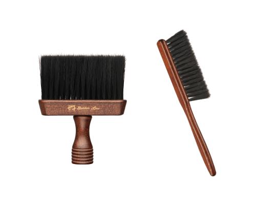 cepillo cuello barbero Barber Line