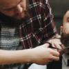 Tijeras de corte y de esculpir para el barbero