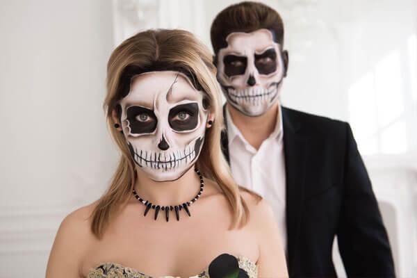 maquillaje-esqueleto halloween