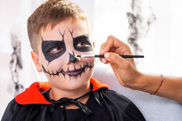 maquillaje-niño-dracula halloween