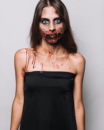maquillaje-sangriento halloween