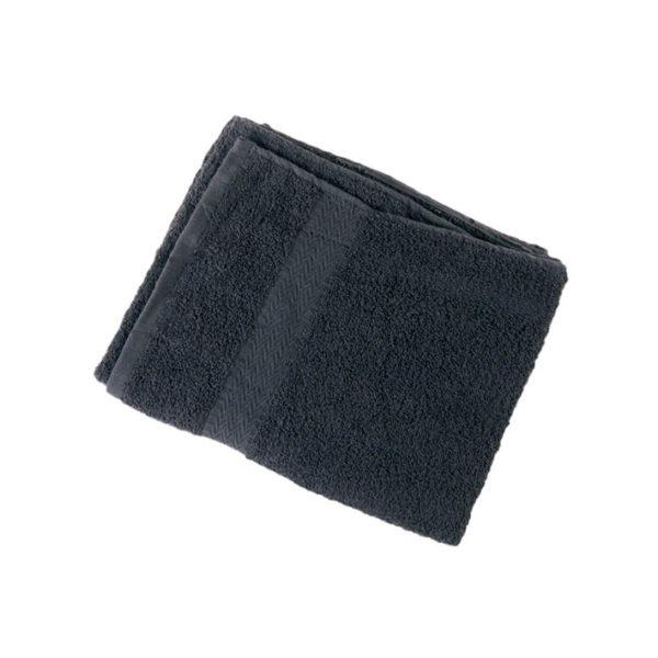 Toalla negra barbería 06829-50