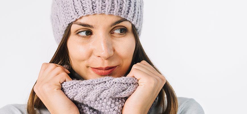¿Cómo proteger la piel de las bajas temperaturas?
