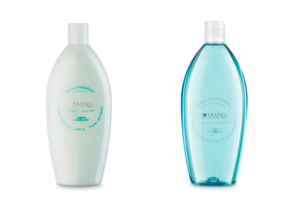 leche limpiadora y tónico revitalizante Tassel Skin Cosmetics