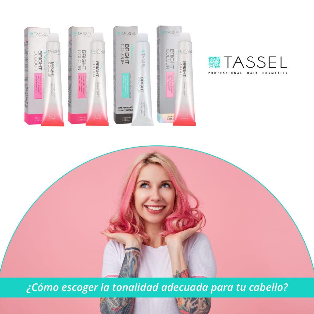 ¿Cómo escoger la tonalidad adecuada para tu cabello?