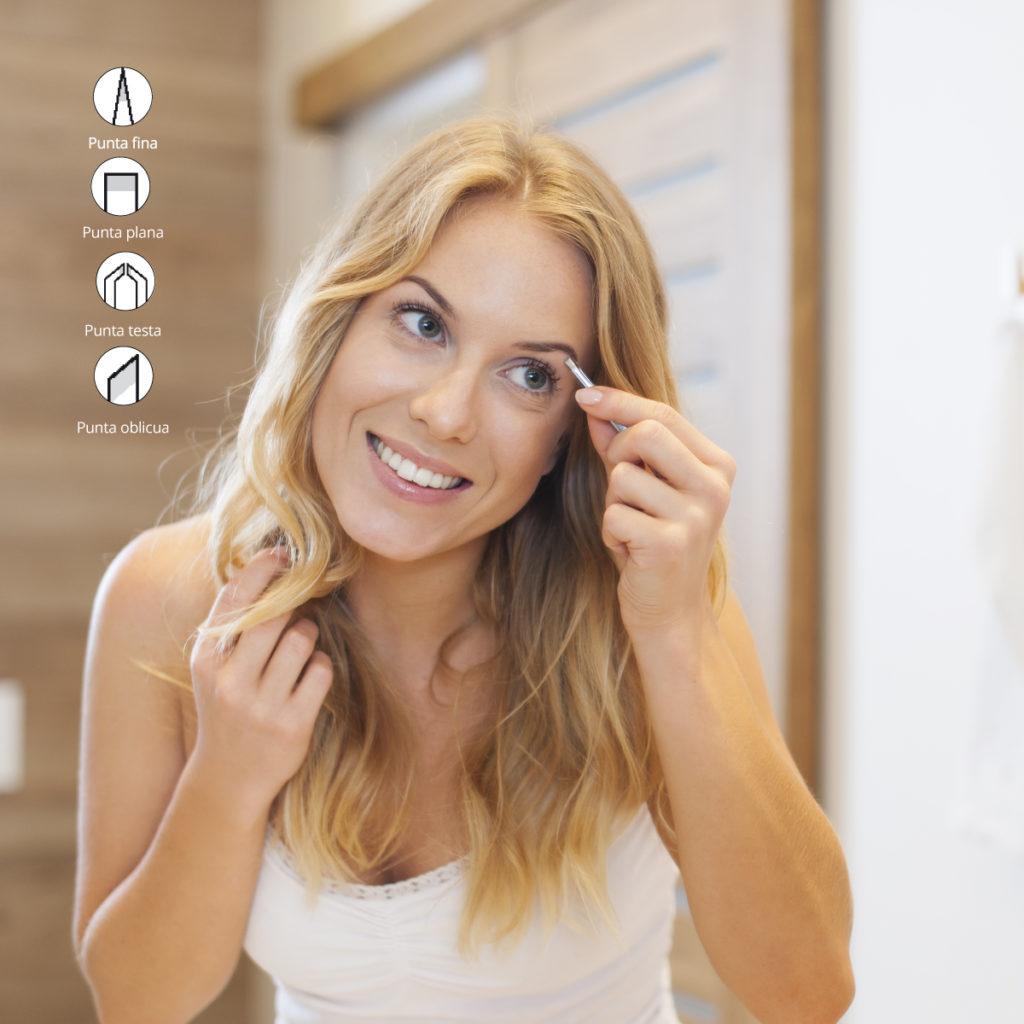 tipos de pinzas para depilar Pollié i Eurostil